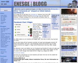 Gamla bloggen